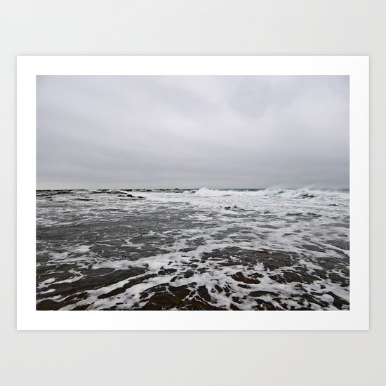 After the Wave Art Print