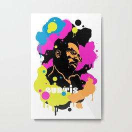 Soul Activism :: Curtis Mayfield Metal Print