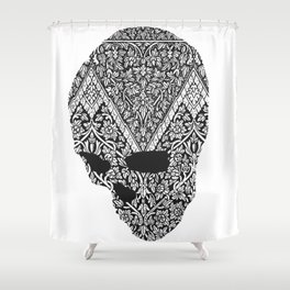 Individual Thought Patterns by Fred Gonzalez Shower Curtain