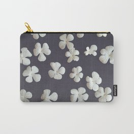 White petals3 Carry-All Pouch