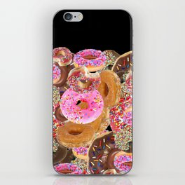 IRON&EMOTION I DONUT GIVE A DAMN ABOUT HAVING ABS iPhone Skin