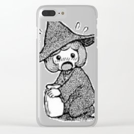 Schierke cute honey design Clear iPhone Case