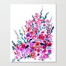 Scarlett Floral Canvas Print