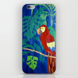 Il Pappagallo Felice (The Happy Parrot) iPhone Skin