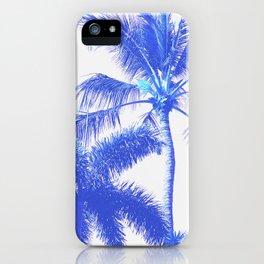 Blue Palm Paradise iPhone Case