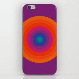 Retro Bullseye Pattern iPhone Skin