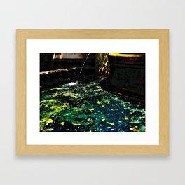 Andromeda Pool Framed Art Print