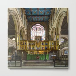 Magdalene church altar  Metal Print