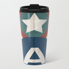 Star-Spangled Avenger Metal Travel Mug