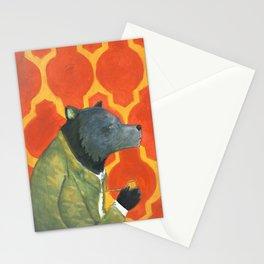 Papa Bear's Pipe Stationery Cards