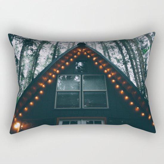 Cabin #woods Rectangular Pillow