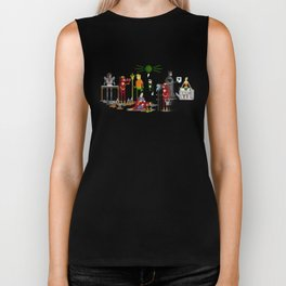 Office Party Biker Tank