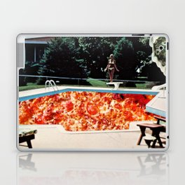 Pizza Pool Party Collage Laptop & iPad Skin