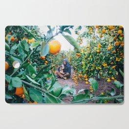 Valencian Orange Grove Cutting Board
