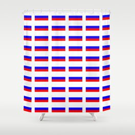 Flag of russia 2 -rus,ussr,Russian,Росси́я,Moscow,Saint Petersburg,Dostoyevsky,chess Shower Curtain