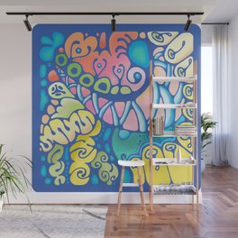 Doodle 1 Wall Mural