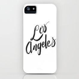 Los Angeles - Hand Type iPhone Case