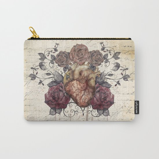 Flowers from my heart Carry-All Pouch