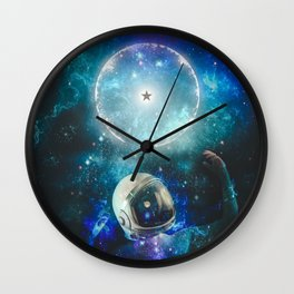 See You, Spaceman Wall Clock