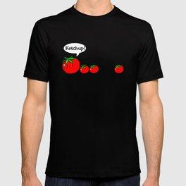 Ketchup Clean Joke Shirt T-shirt