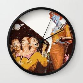 Retro Sci Fi Wall Clock