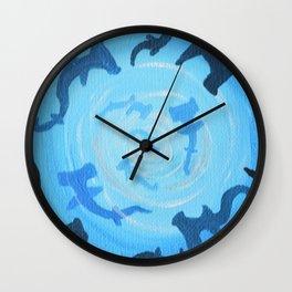 Shark Tank Wall Clock