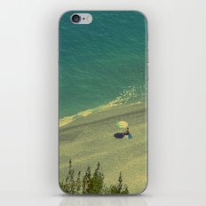 Lady on the Italian Riviera iPhone & iPod Skin