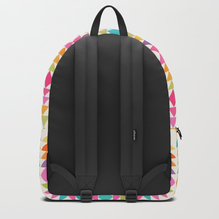 Lovely geometric Pattern VVIII Backpack
