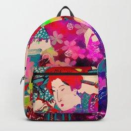 Blooming Geisha Backpack