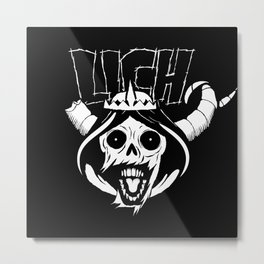 The Lich Metal Print