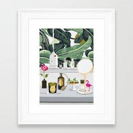 The Fragrance Cabinet Framed Art Print