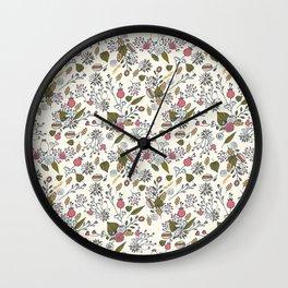 Mori girl three Wall Clock