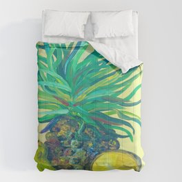 Pear and Pineapple Comforters