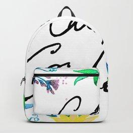 Call Me Cordelia - Yellow Flowers Backpack