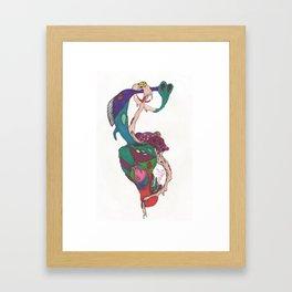 Psych Framed Art Print