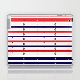 Red White & Blue in lights Laptop & iPad Skin