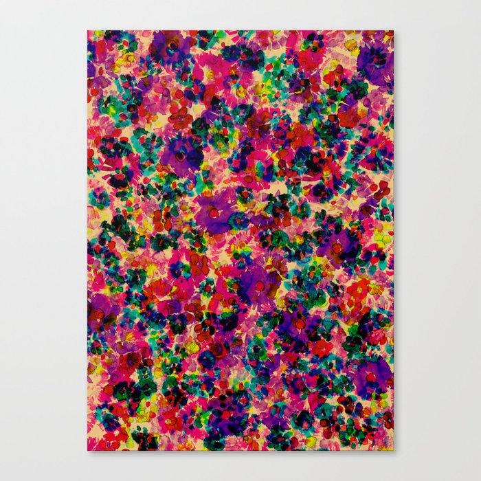Floral Explosion Canvas Print
