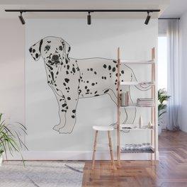 Dalmation Wall Mural
