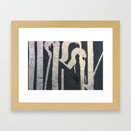 IRONY Framed Art Print