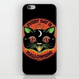 Every Day is Halloween iPhone Skin