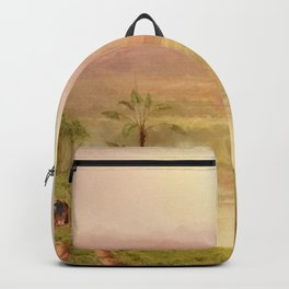 Louis Remy Mignot - Lagoon of the Guayaquil River, Ecuador Backpack