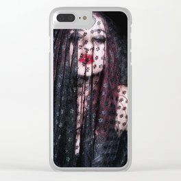 Mafia Bride Clear iPhone Case