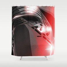 Dark Side (Kylo Ren) Shower Curtain