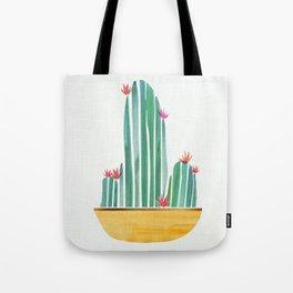 Tiny Cactus Blossoms Tote Bag