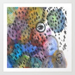 blotchy Art Print