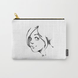 SMILE AT ME. Carry-All Pouch