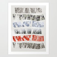 Nature Tape Art Print