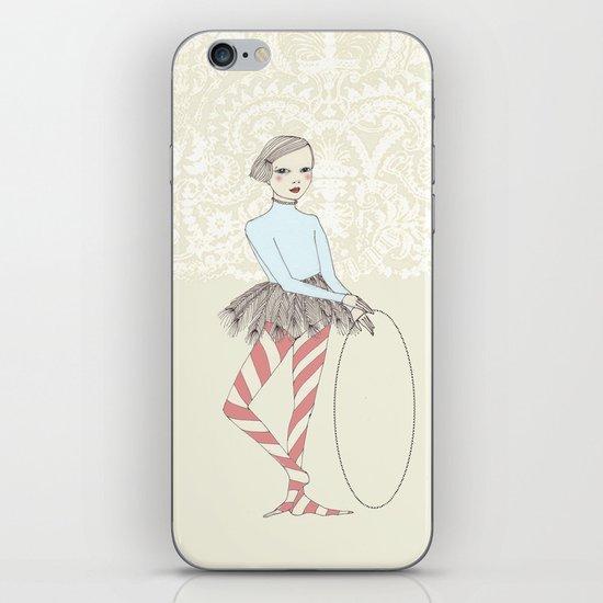 Harlequin Girl iPhone & iPod Skin