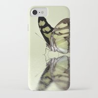 malachite iPhone & iPod Cases featuring Malachite reflection by Lyn Evans