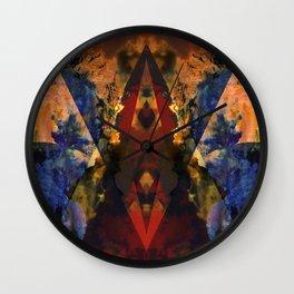 Transversal Wall Clock